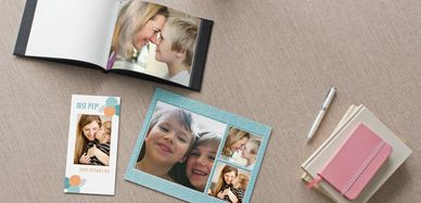 Photo Gifts on background, Photo Book and Photo Calendar from Surrey Photographic Printing Shop