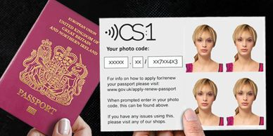 Digital Codes for Online Passports Poster, Digital Passport System information for Online Passports in Surrey,