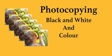 Image copying, Surrey Photocopying in black and white and colour, Surrey Photo Shop