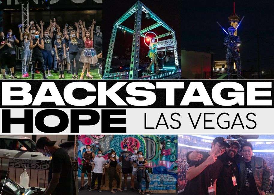 Backstage hope project charity helping entertainment workers in Las Vegas NV