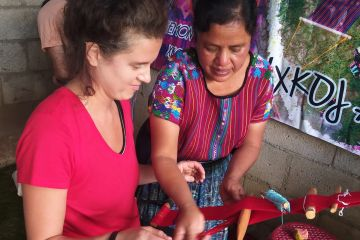 Guatemala weaving workshop and textile tour with GUATE 4 YOU