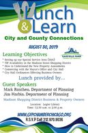 Lunch & Learn with Business Owners and the City of Chicago Department of Planning.
