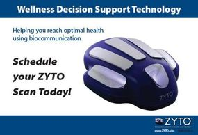 Zyto Compass offers a window into the body, showing what supplements your body prefers.
