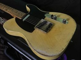 Fender Telecaster replica Relic aged reproduction guitar Tele