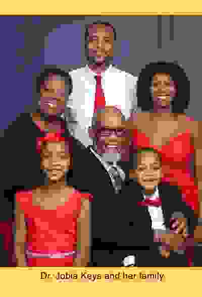 Dr. Jobia Keys and her family