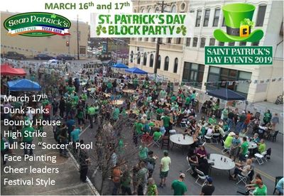 Best place in San Marcos for street parties, especially on Saint Patrick's Day!