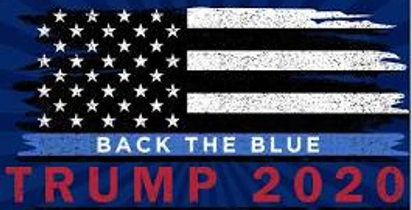 President Trump  Back the Blue Event