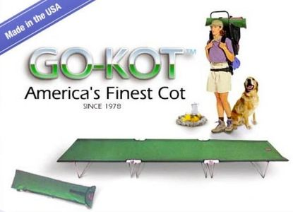 GO-KOT America's Finest Camping Cot Made in USA Since 1978