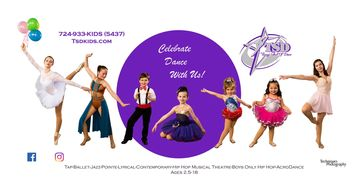 Custom banners by Techniques Photography in Pittsburgh, PA promote your dance studio