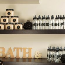 Our line of bath & body products are made with Dead Sea & Epsom salts, Essential Oils,Shea butter