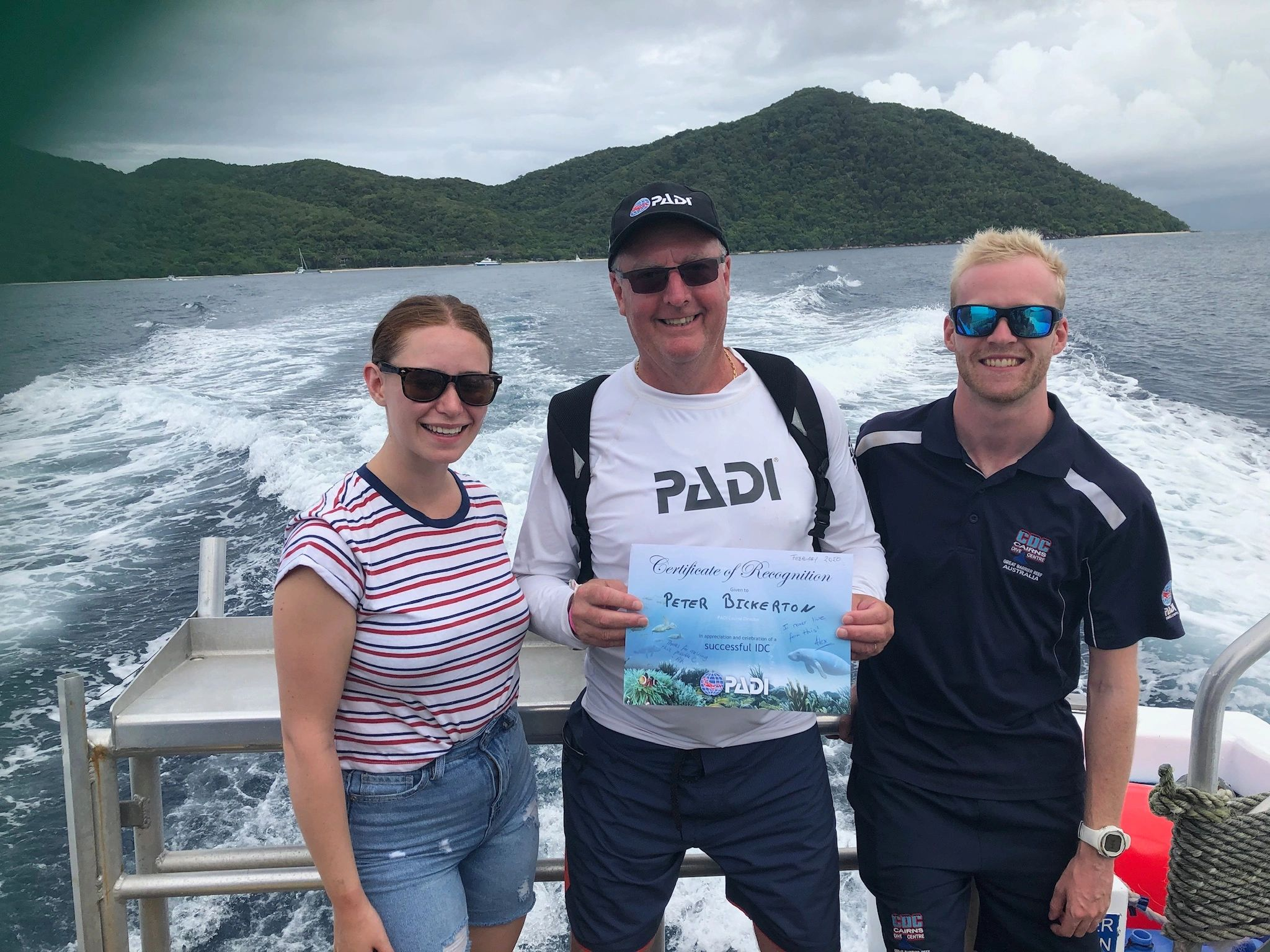 PADI instructor development course Instructor diving training
