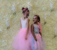 Birthday party tutu theme