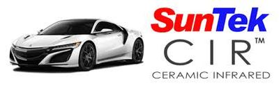 SunTek Ceramic IR or CIR window tinting film available here at Dope Tintings in South Jersey.