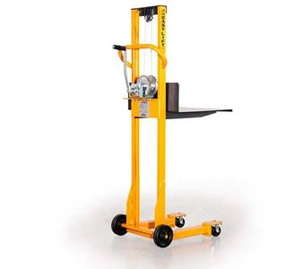 Mobile Easy Lift for shop repair of pumps and other maintenance jobs