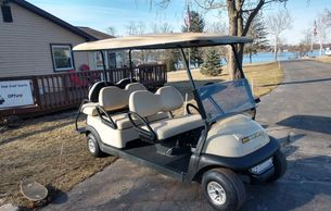 2009 Club Car Precedent GAS 6 Passenger