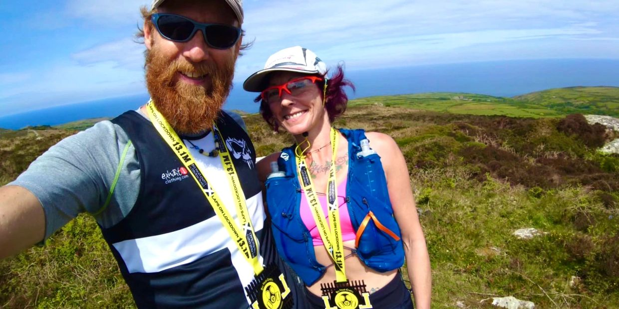 Martin Penney and Sarah Lively your experienced running guides