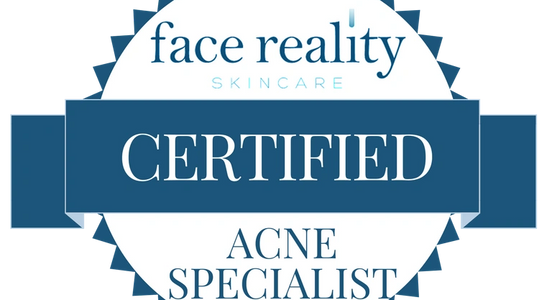 face reality, certified, acne specialists, acne care treatments