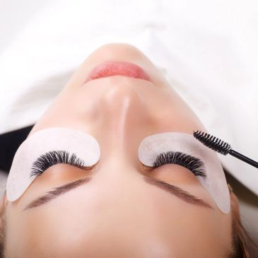 eyelash extension, classic, volume, hybrid