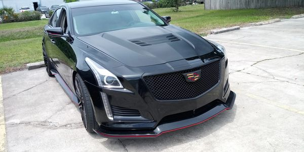 Cadillac front body parts.
