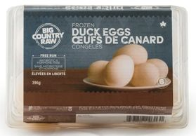 Duck eggs - add some extra yummy to your dogs bowl