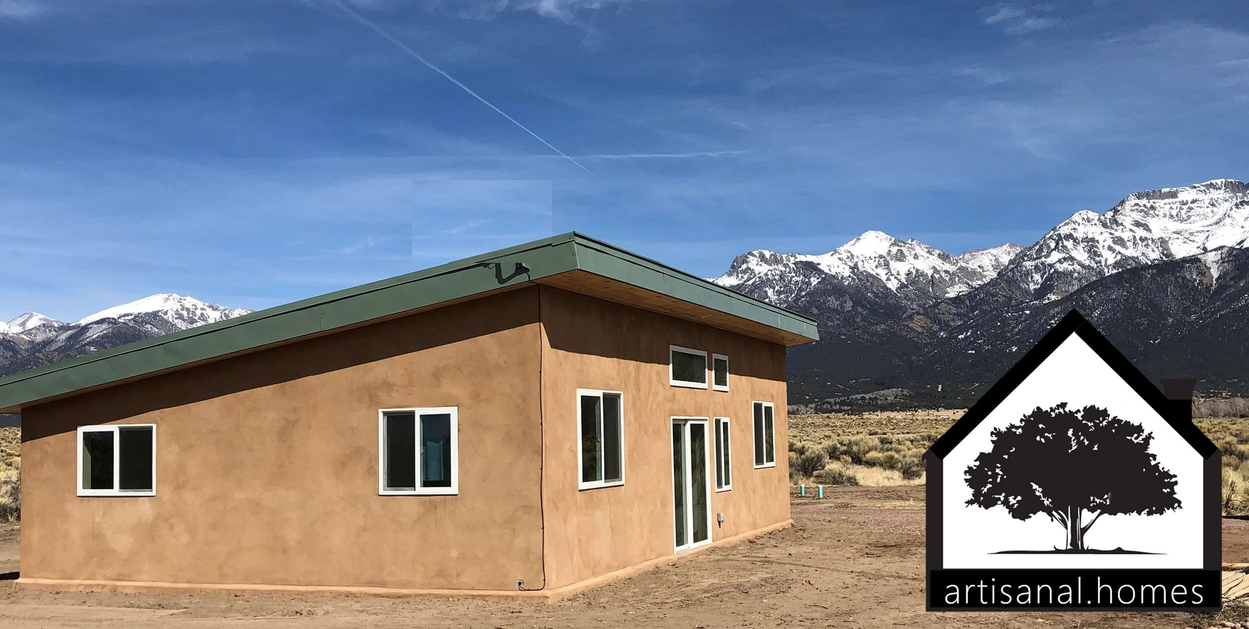 Crestone Colorado Homes Builder Contractor - Artisanal.Homes builds beautiful affordable SIP Homes .