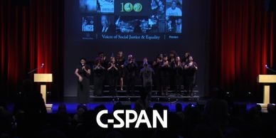 Multi camera production for C-Span featuring Congressman John Lewis. Sponsored by Tampabay Times