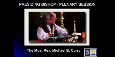 Episcopal Diocese of SW Florida annual convention. Presiding Bishop Michael B. Curry