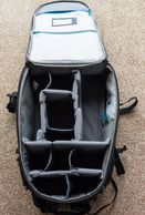 Shootout 32L in it's conventional configuration. Note huge opening panel for easy/quick access