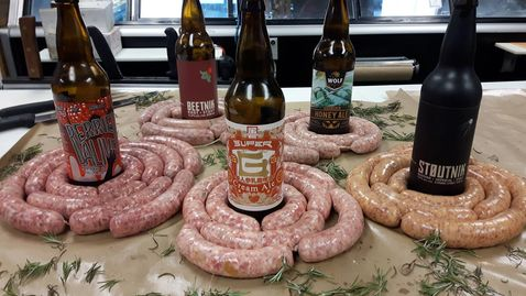 House Made Craft Brew Sausages