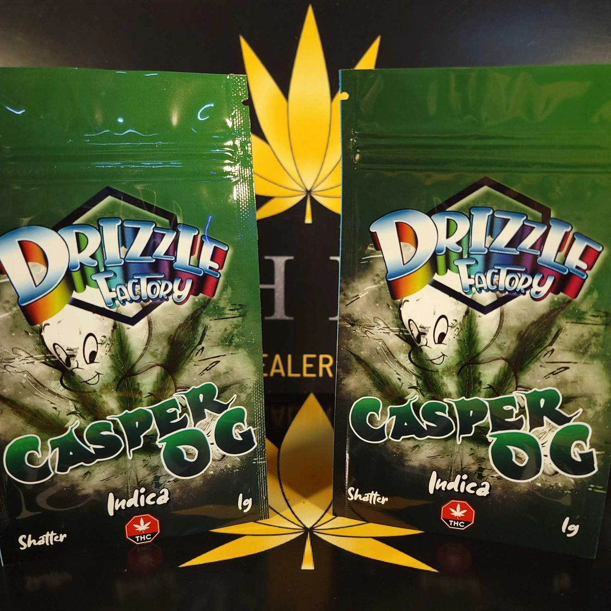 Casper OG Shatter by Drizzle Factory $25 each or 2 for $40