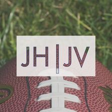 Junior High and Junior Varsity football schedule
