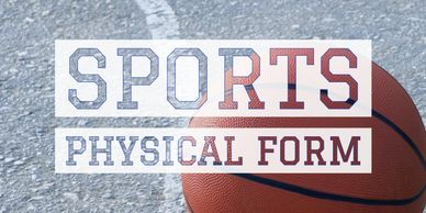 Sports Physical Form