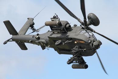 AH-1 AgustaWestland Apache Attack Helicopter