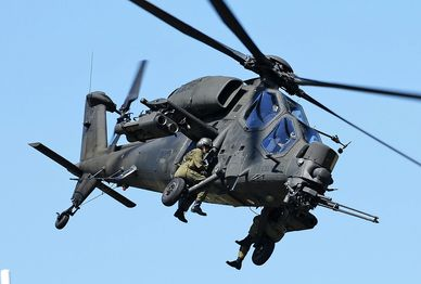 A129 Mangusta Attack Helicopter