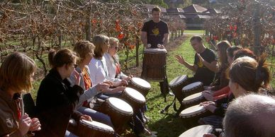 Corporate Drumming Class