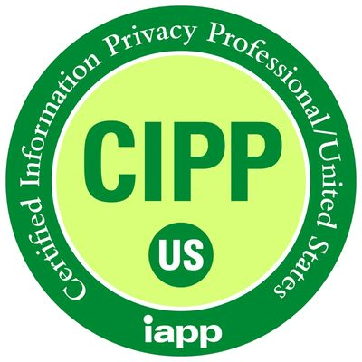 seal of certification as information privacy professional / United States