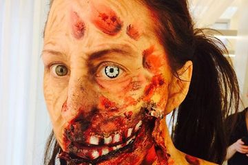 special effects with minor prosthetics
