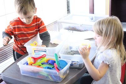 Active sensory play helps to facilitate children's natural instinct to create hypothesis'.