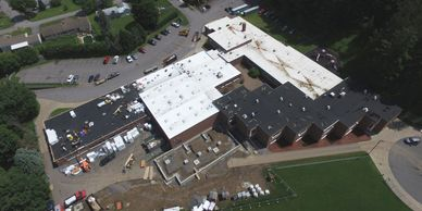 Pulver Roofing commercial roofing, TPO Roofing, PVC Roofing, SBS Roofing, Utica, NY, Albany, NY