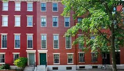 An affordable housing revitalization in partnership with the Spring Garden CDC.