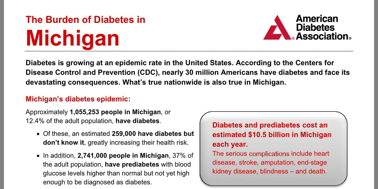 I am based in my home City of Detroit, the statistics found for Michigan are astounding!