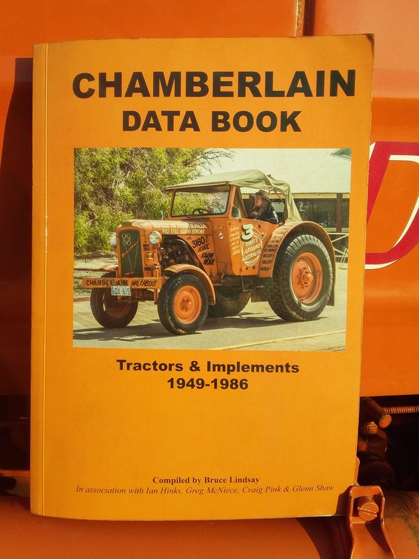 Chamberlain Book. Data Book Tractors and Implements