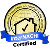 Certified by the International Association of Certified Home Inspectors, InterNACHI