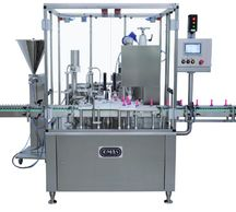ENCO Pack, Pharmaceutical, Cosmetic, Omas filling and capping monobloc,  Rotary Filling