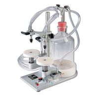 ENCO Pack, Pharmaceutical, Cosmetic, Biotech, Packaging Solutions, Bench top vacuum filler
