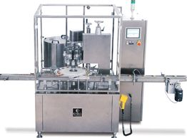 ENCO Pack, Pharmaceutical, Cosmetic, Omas filling and capping monoblock,  Intermittant Rotary Filling