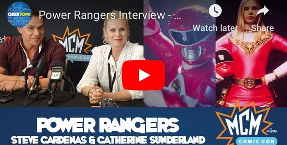 Catherine Sutherland Press Panel Interview from MCM Comic Con London (October 2018)