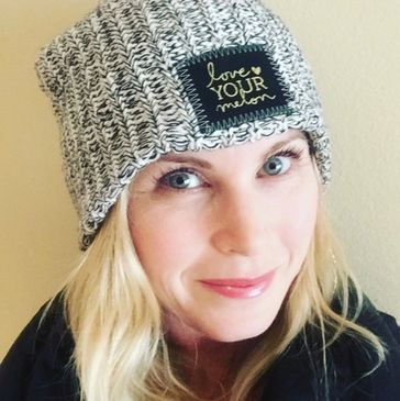 Catherine Sutherland supports Love your melon