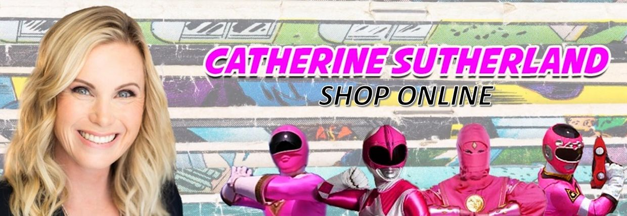 pink power ranger store