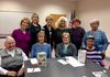 Bookie's 11 meets at the Clover Hill Library,.